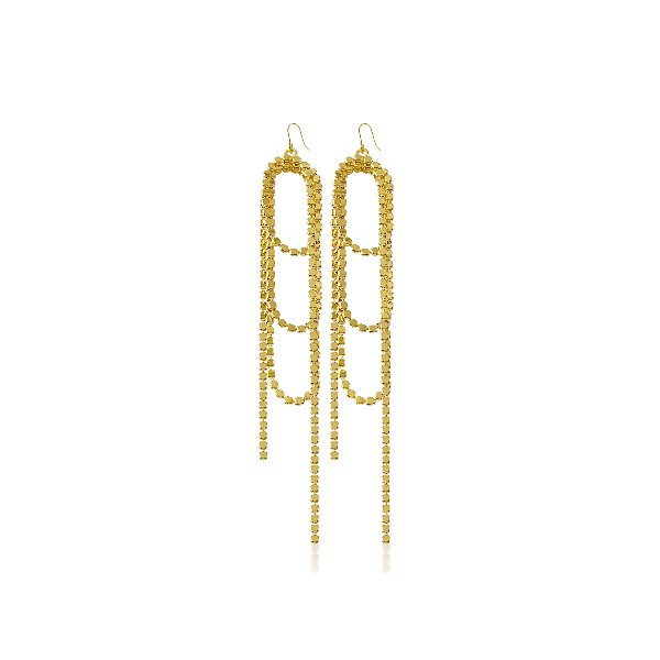 S tonn Long-Drop Earrings