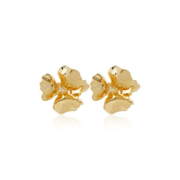 S tonn Rose Flower Earrings