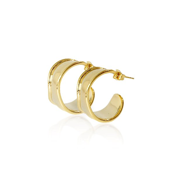 S tonn Wave Lineup Earrings