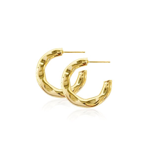 S tonn Hammer's Hoop Earrings