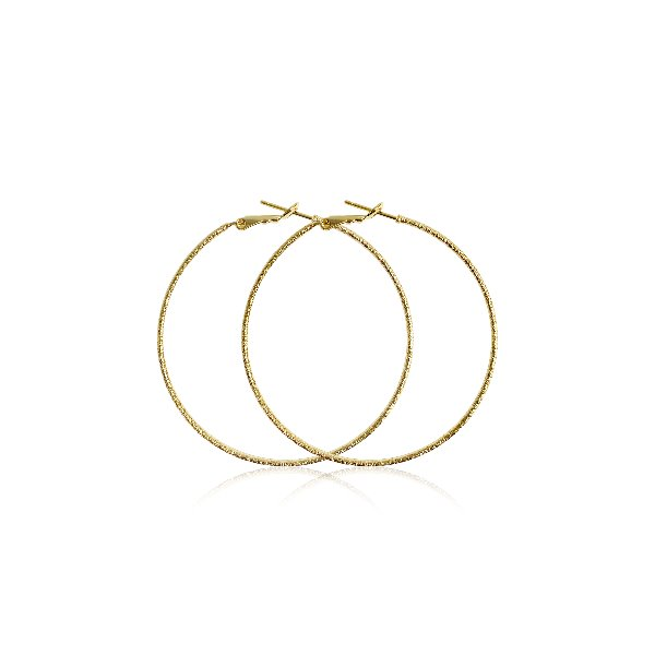 S tonn Style Hoop Loop Earrings