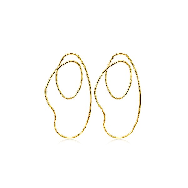 S tonn Free Curve Arrings Earrings