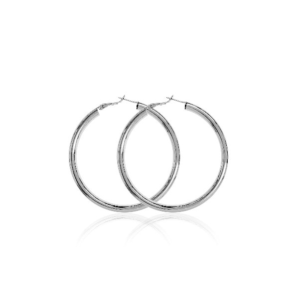 S tonn Rounded Tube Earrings
