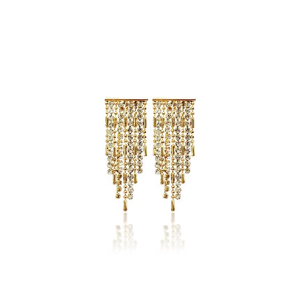 S tonn Nine-Stringed Earrings